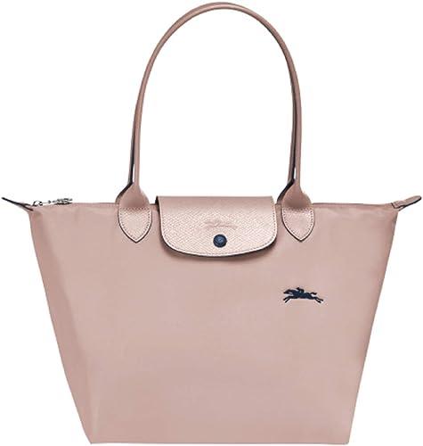Longchamp Le Pliage Club Large Shoulder Tote (Hawthorn Pink)