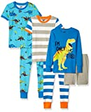 Spotted Zebra Boys' Kids Snug-Fit Cotton Pajamas