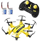 SGILE Mini RC UFO Quadcopter Nano Drone with 2 Free Batteries, 360° Flip One Key Return/Rotation Recover Balance Headless Mode