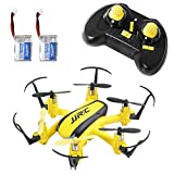 ufo toy remote control - SGILE Mini RC UFO Quadcopter Nano Drone with 2 Free Batteries, 360° Flip One Key Return/Rotation Recover Balance Headless Mode, 2.4GHz 4CH 6 Axis for Kids