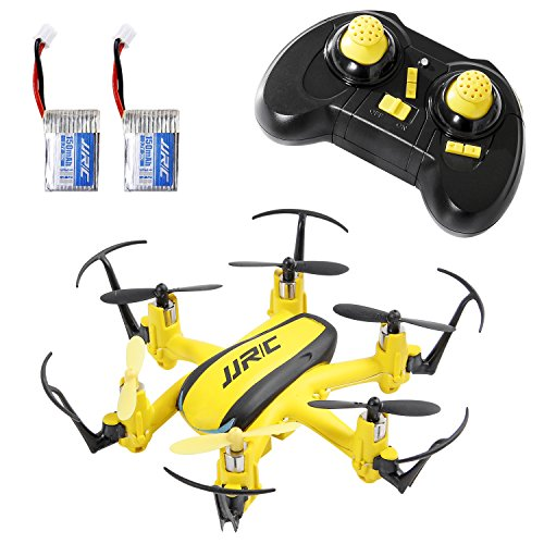 SGILE Mini RC UFO Quadcopter Nano Drone with 2 Free Batteries, 360° Flip One Key Return/Rotation Recover Balance Headless Mode by SGILE