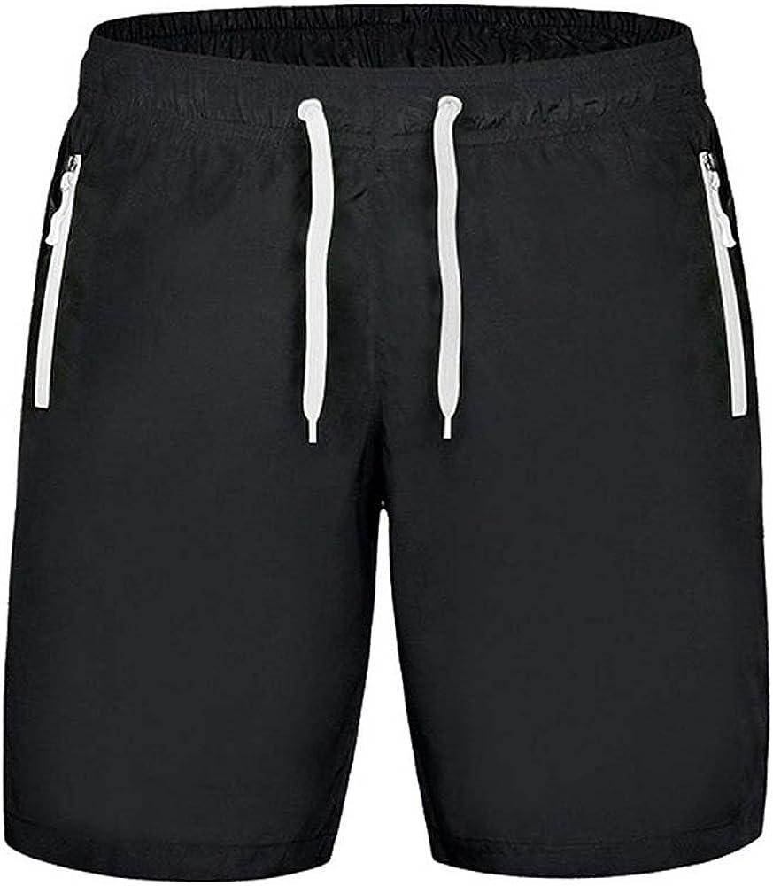 Oneforus Pantalones cortos deportivos Pantalones cortos de fitness de verano para hombres Pantalones cortos de cuerda de pull para hombres y mujeres con secado r/ápido