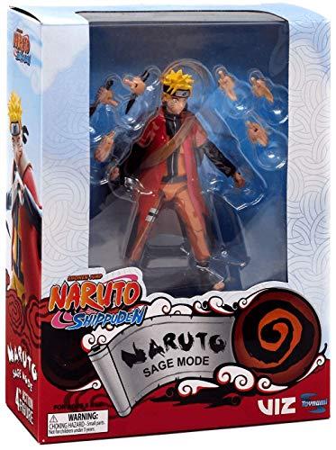 Naruto Shippuden Sage Mode Action Figure Exclusive ()