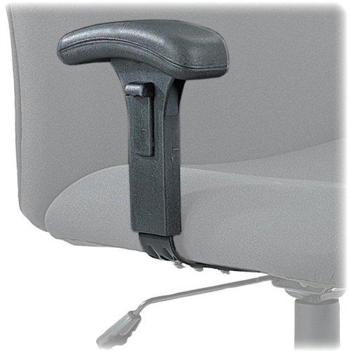 Adjustable Tpad Arm Kit - SAF3496BL - Safco Adjustable T-Pad Arm Kit for Big Tall Chairs