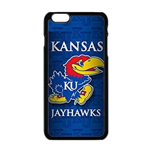 Kansas Jayhawks Brand New And Custom Hard Case Cover Protector For Iphone 6 Plus