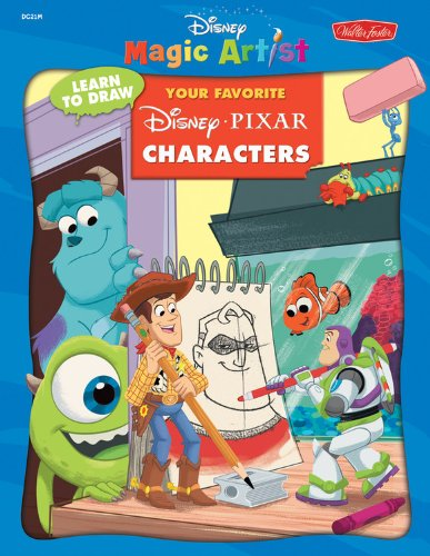 Learn to Pull in a tap Your Favorite Disney/Pixar Characters (DMA LearntoDraw Books)