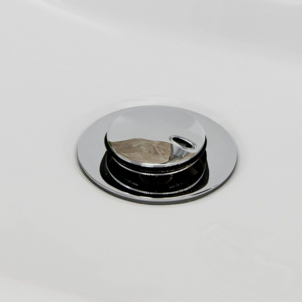 Josh Small Compact Cloakroom Basin Sink Ceramic Wall Hung 395 X 230 Right Hand (JOSH-LH+BT01) E-PLUMB