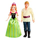 Disney Frozen Anna and Kristoff Doll (2-Pack)