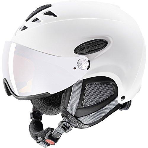 fb1bb35c1 Uvex 300 Visor Ski Helmet Large White Mat