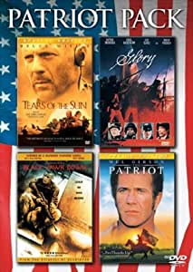 The Patriot Pack (The Patriot Special Edition / Tears Of The Sun Special Edition / Black Hawk Down / Glory)