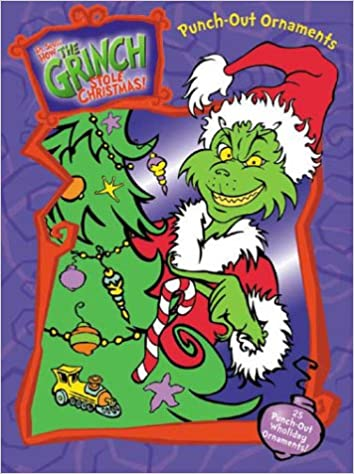 How The Grinch Stole Christmas 2000 Characters.How The Grinch Stole Christmas Ornament Punch Play Book