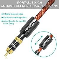 EMK - Cable de Audio coaxial Digital para subwoofer (RCA a RCA ...