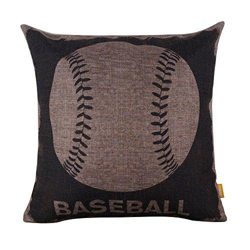 Baseball Throw Pillow - 4