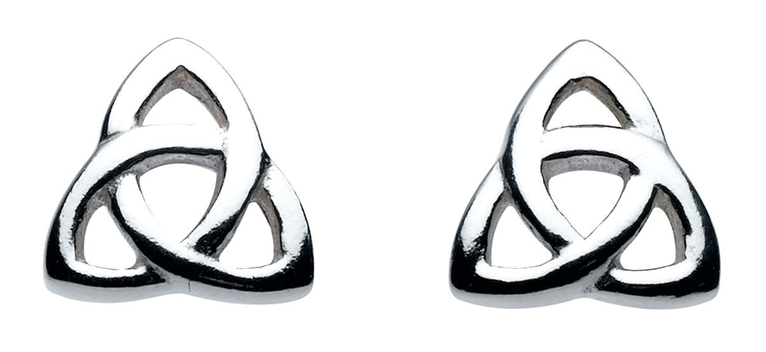 Heritage womens sterling silver celtic trinity knot stud earrings heritage womens sterling silver celtic trinity knot stud earrings amazon jewellery buycottarizona Images