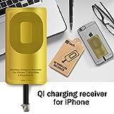 QI Receiver for IPhone 5-5c- SE- 6-6 Plus- 7-7