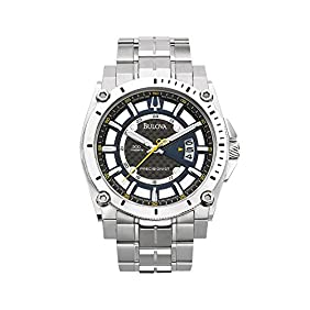 Bulova Men's Stainless Steel Champlain Watch