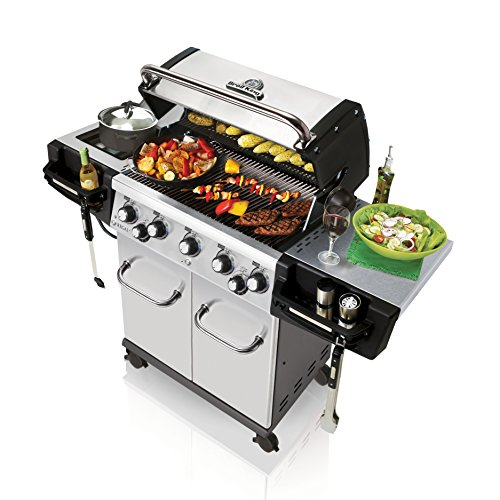 Broil King Regal S590 Pro - Stainless Steel - 5 Burner Propane Gas Grill