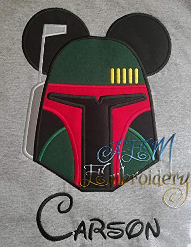 - Personalized Boba Fett Star Wars Mickey Head Unisex Vacation Shirt