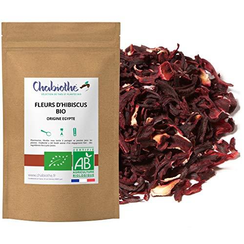 Flores de Hibisco secas BIO 200g - Bissap Karkade Organico