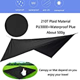 HongXingHai Camping Hammock with Mosquito Net and