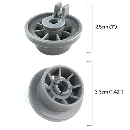 Amazon.com: Bosch Dishwasher Wheels 165314 - WENTS ...