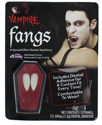 Fangs Dentures Vampire Costume Accessory -