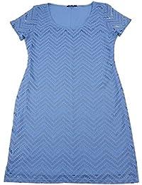 Tiana B. Womens Short Sleeve Lace Sheath Dress