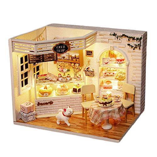 Bayin Dollhouse Kit DIY Furniture, Wooden Miniature for sale  Delivered anywhere in USA