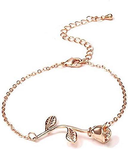 Bridesmaid Proposal Rose Bracelet Personalise Bracelet Bridesmaid Bracelet,Rose Gold Jewelry Rose Dainty Bracelet Rose Gold Bracelet