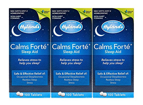 Calms Forte Hylands 100 Tabs (100-Pack of 3)