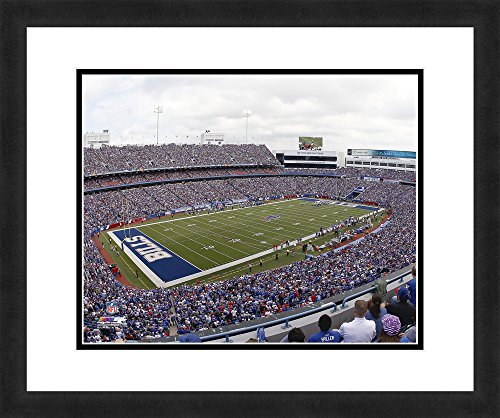 "NFL Buffalo Bills Ralph Wilson Stadium, Beautifully Framed and Double Matted, 18"" x 22"" Sports Photograph (Wilson Ralph Stadium)"