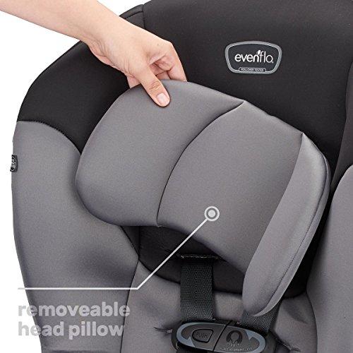 51QSK2iQk9L - Evenflo Sonus Convertible Car Seat, Charcoal Sky