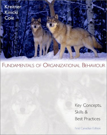 Fundamentals of Organizational Behaviour