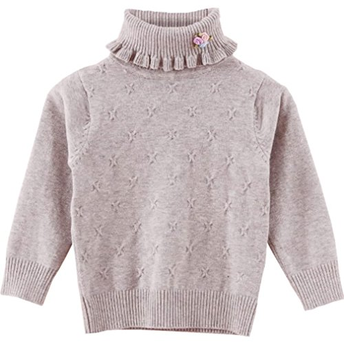 Girls Fall Sweaters Little Kids Pullover Sweaters Baby Children Casual Clothes (90#(height=33-37