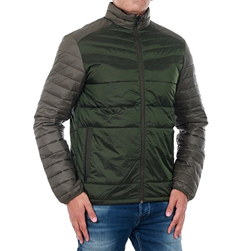amp; Jones Verde Jcolima Puffer Hombre one Jacket Night 12123051 Jack Forest Plumífero CdqwdU