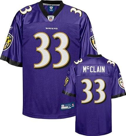 292c6de72 ... Baltimore Ravens LeRon McClain 33 NFL Youth Replica Jersey (Small- Boys  8- ...
