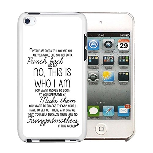 Once Upon a Time - Emma Swan Quote Case Cover Your iPod Touch 4 Case ( White Hard Plastic )