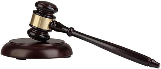 Marteau en bois ronds et bloc de pour avocat, Student, juge, vente ...