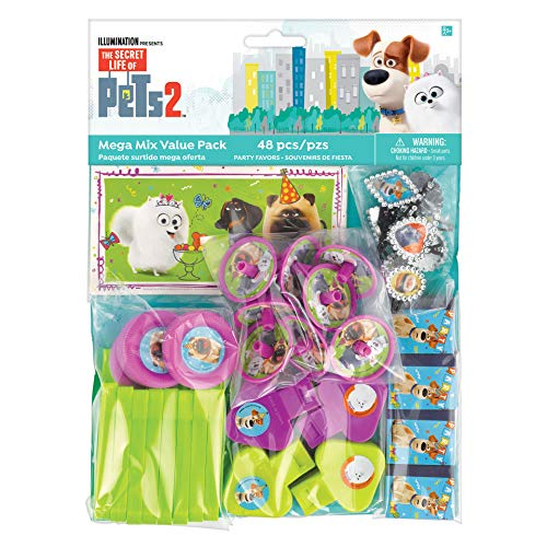 """""""The Secret Life Of Pets 2"""" Assorted Party Favors, 48 Ct."""