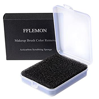 FFLEMON Makeup Brushes Color Remove Sponge - Removes Makeup From Your Makeup Brushes,Shadow Brushes Color Remove and Easily Switch to Next Color