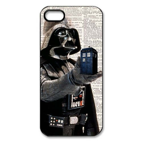 RHINO ARMOUR SLIM CASE - Doctor Who Tardis Police call box -Rubber Case for Apple iPhone 6 Plus, 6S Plus (5.5