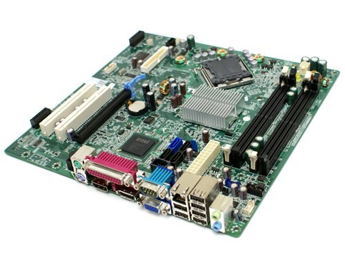 Genuine Dell Intel Q45 Express LGA775 Socket Motherboard For Optiplex 960 Small Mini Tower (SMT) System Part Number: Y958C, H634K (Certified Refurbished)