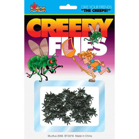 Creepy Flies - Give Your Friends the Creeps (The Fly Costume)