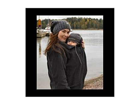 Manduca Deluxe - Chaqueta de porteo, talla s, color negro