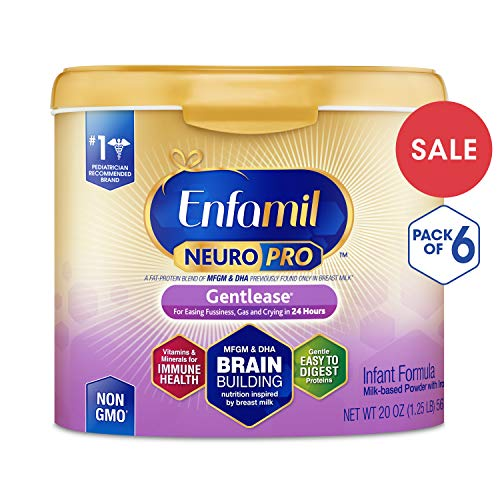 Enfamil NeuroPro Gentlease Infant Formula - Clinically Proven to reduce fussiness