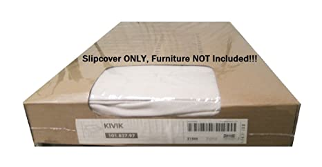 Amazon.com: Sofá KIVIK Slipcover – ingebo Light Beige – IKEA ...