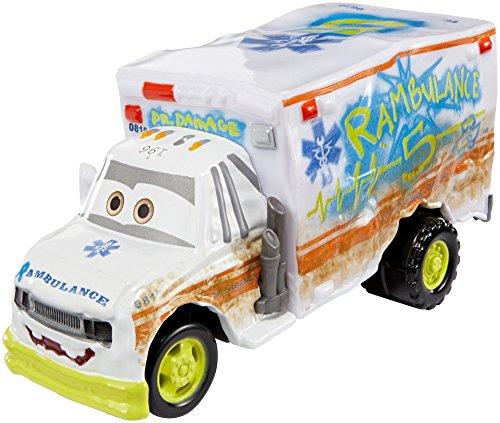 Disney/Pixar Cars 3 Deluxe Dr. Damage Die-Cast Vehicle, 1:55 Scale