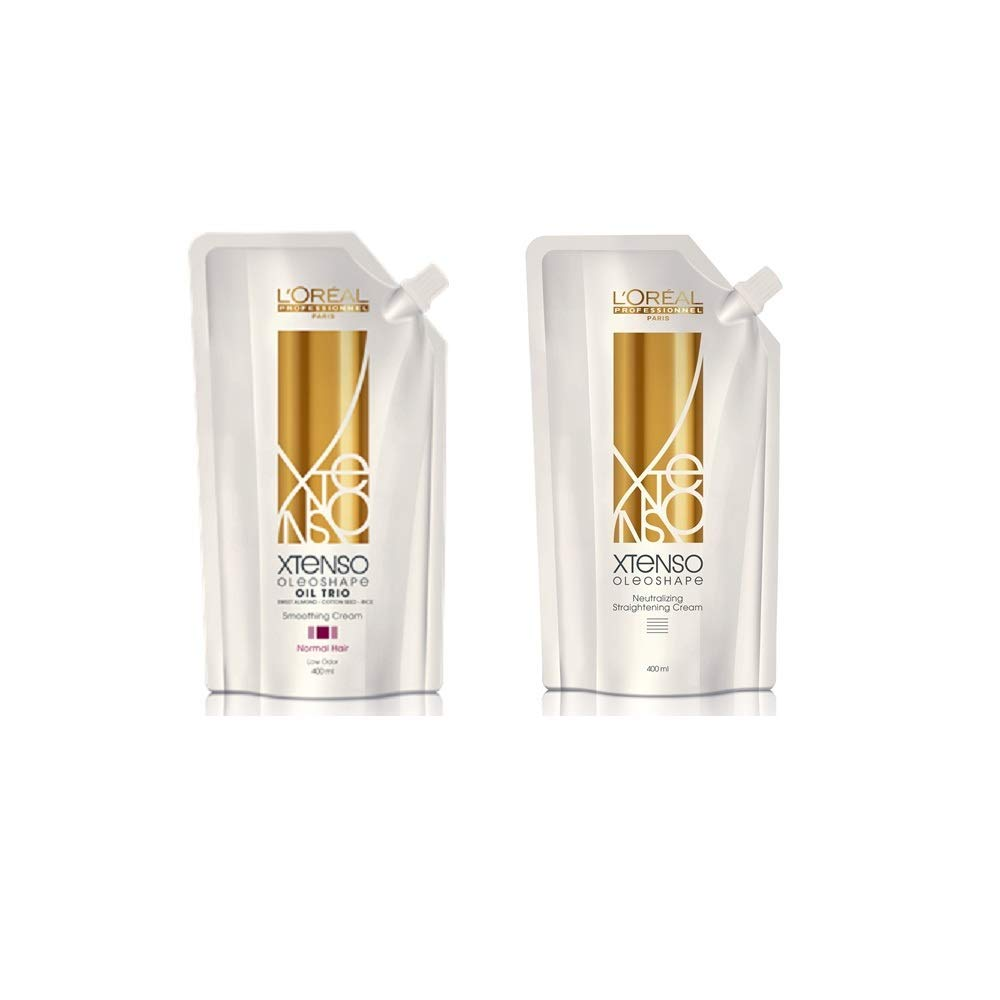 L'Oreal Paris X-tenso Moisturist Hair Straightener Set for Natural Hair 800ml