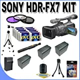 Sony HDR-FX7 3-CMOS Sensor HDV High-Definition Handycam Camcorder with 20x Optical Zoom + Full Size Tripod + Master Works Producing DVD + Accessory Saver Kit & More!!!