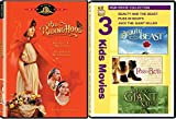 Fairy Tale Classics - Beauty & The Beast, Puss in Boots, Jack the Giant Killer and Red Riding Hood 4-Movie Bundle